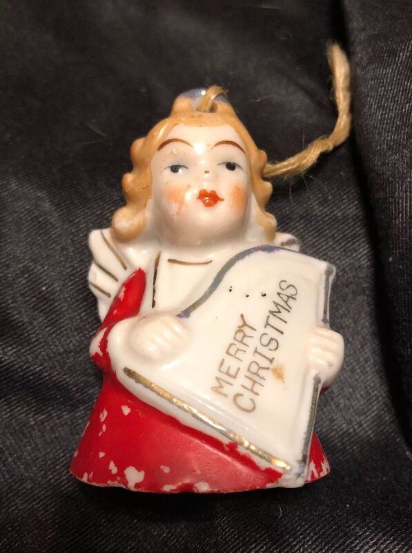 Vintage Christmas bell Angel From Japan