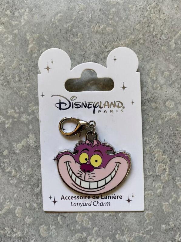 Disney DLRP DLP Disneyland Paris Alice In Wonderland Cheshire Pin Lanyard Charm