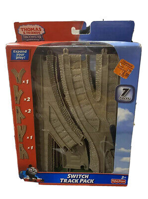 Thomas & Friends Trackmaster Motorized Train Switch Track Pack 7 Pieces
