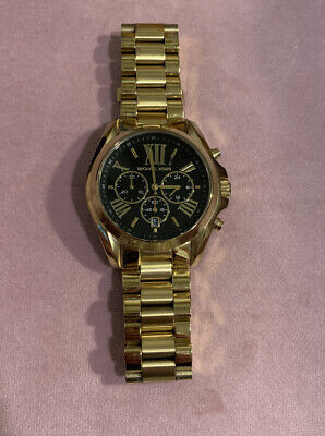 Michael Kors Bradshaw MK5739 Wrist Watch for Women Needs Battery