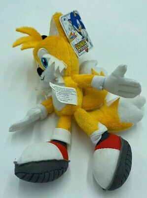 Sonic The Hedgehog Tails (Sonic The Hedgehog Tails Yellow Plush Doll Stuffed Licensed Toy 8 inch)