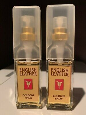 English Leather Cologne Spray By Dana For Men - 0.5oz/15ml ~ LOT OF 2~ Mint Cologne Spray