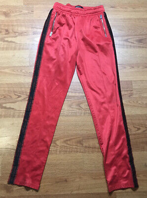RARE Misbhv Sweatpants Joggers Size Medium M RED Extacy SEE PICTURES
