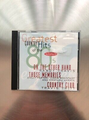 Greatest Country Hits of the '80s, Vol. 2 by Various Artists (CD, Apr-1995, (Greatest Country Hits Cd)