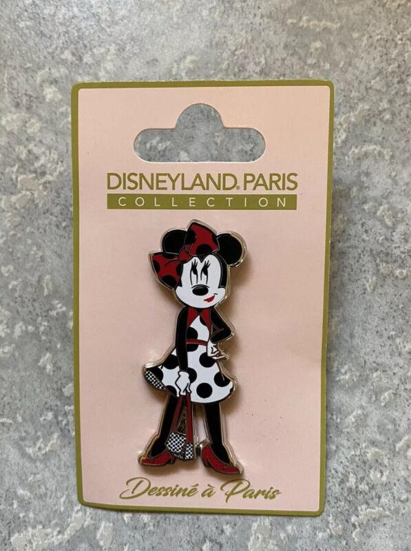 DLRP DLP Disney Land Paris Fashion Collection Minnie Mouse Pin Polka Dot Dress