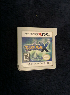 Pokemon X Nintendo 3DS Game Cartridge Only Authentic