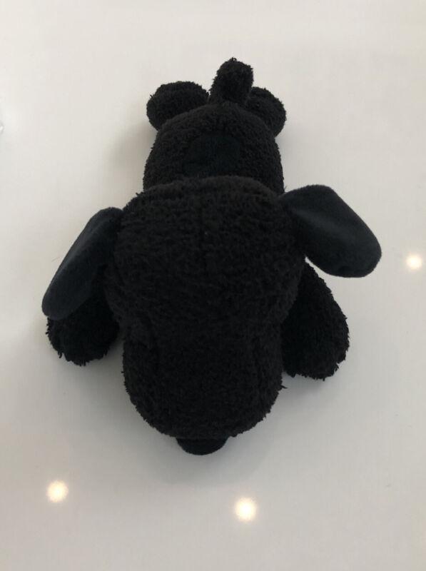 Kaws x Uniqlo Snoopy Small Black Plush Nwot
