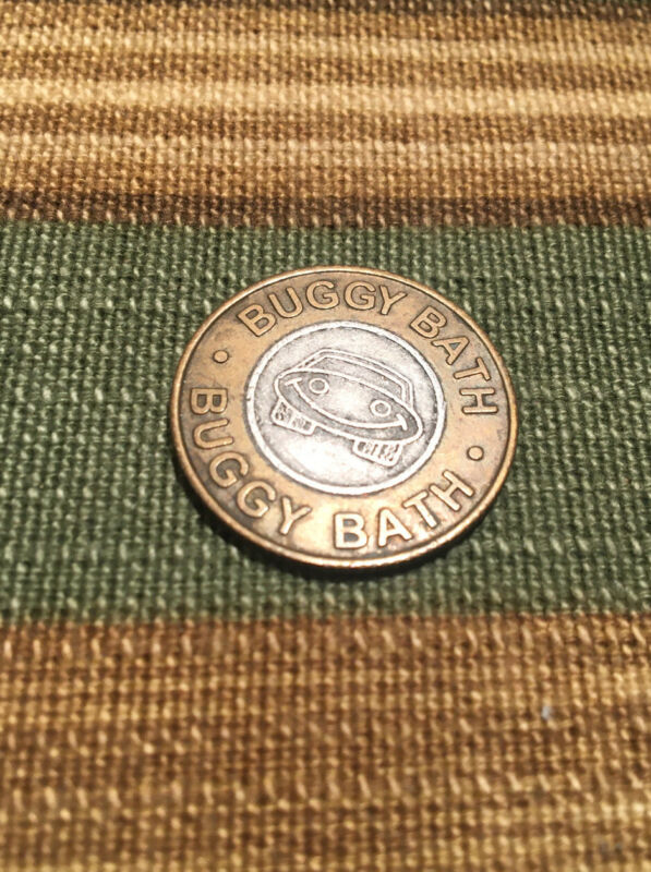 Buggy Bath Car Wash Token - Vintage, South Scottsdale location, No cash value