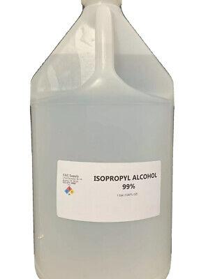 Isopropyl Alcohol 99 Technical Grade - 4 One Gallon Bottles.
