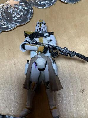 "Star Wars CLONE TROOPER 3.75"" Figure #2 327th Star Corps Betrayal on Felucia"