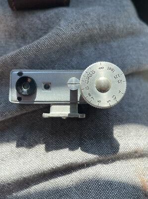 Vintage Bodenseewerk Askania 33 Rangefinder From West Germany with Case