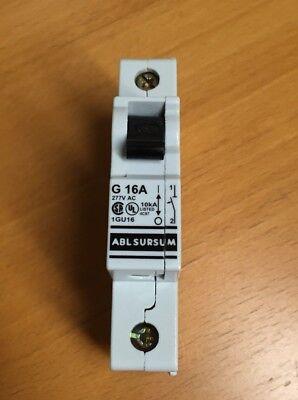 Altech Abl Sursum 1gu16 Circuit Breaker 16a G Characteristic Ul 508 1 Pole