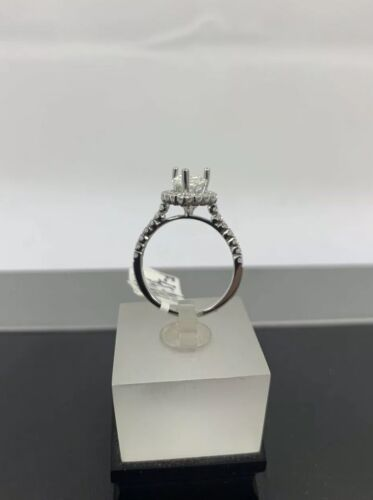 GIA Certified 18k White Gold Ladies Engagement Ring 1.36 Ct Brilliant Pear Shape 6