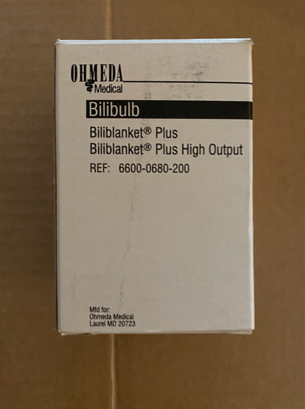 Ohmeda Medical Bilibulb For Biliblanket Plus High Output 6600-0680-200 NEW