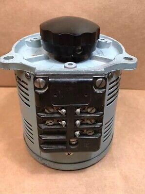 Superior Electric Powerstat 120140v 7.5a 1.0 Kva Variac