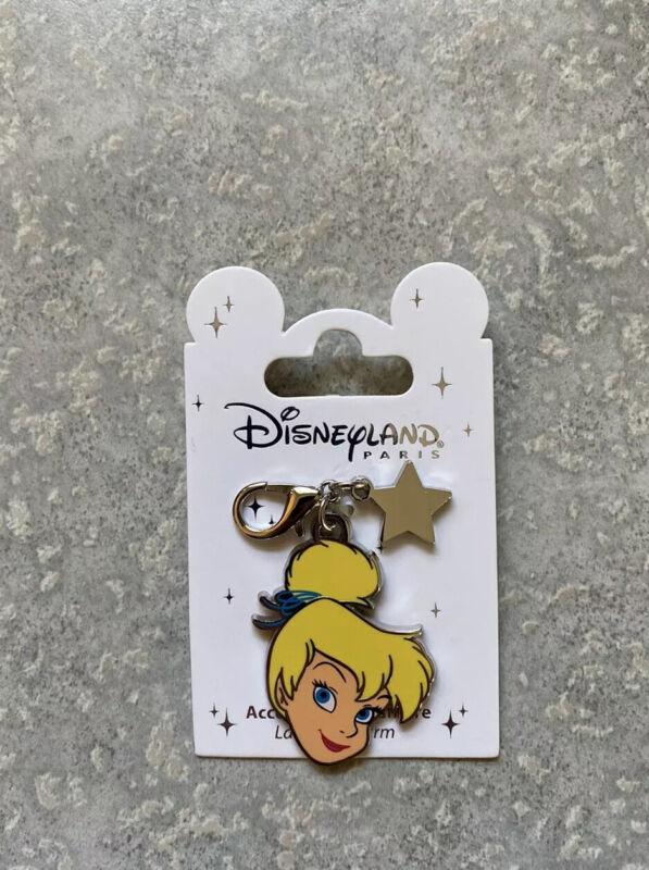 Disney DLRP DLP Disneyland Paris Peter Pan Tinker Bell Pin Lanyard Charm
