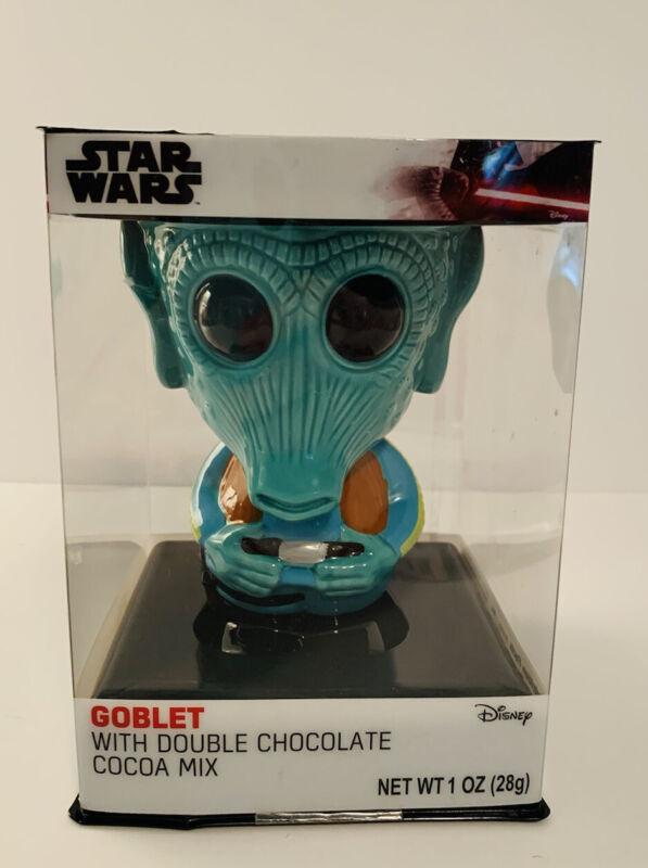 "Star Wars Mug Greedo Goblet Bounty Hunter Ceramic 5"""