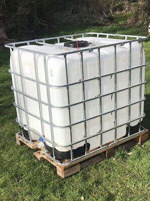 IBC 1000L water tank clean and ready to use
