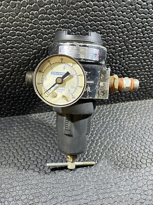 Speedaire 1z885b Air Pressure Regulator 0 - 250 Psi Compressor Dayton 12 Npt