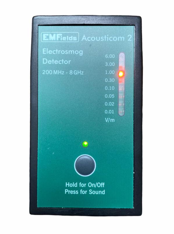 Emfields Acousticom 2 Electrosmog Detector 200 MHz- 8GHz