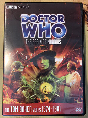 THE BRAIN OF MORBIUS - Doctor Who DVD Tom Baker Story 84 Season 13 R1