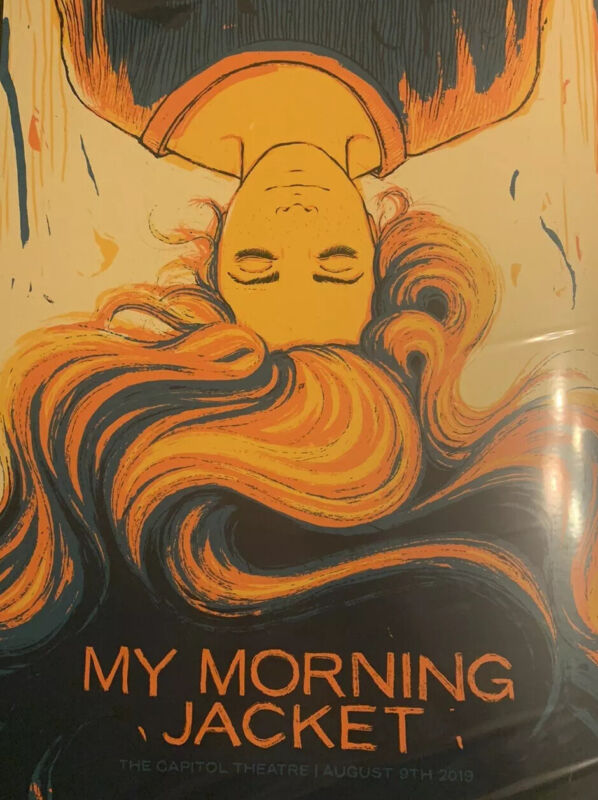 My Morning Jacket VIP Poster 8/9/2019, Capitol Theater, J Vogl 37/250