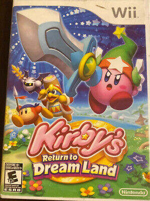 Kirby's Return to Dream Land (Nintendo Wii, 2011) Complete CIB Game