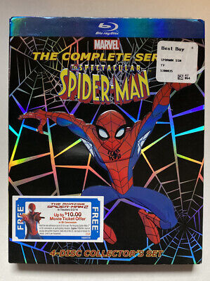 The Spectacular Spider-Man: The Complete Series (Blu-ray Disc) MISSING DISC 3