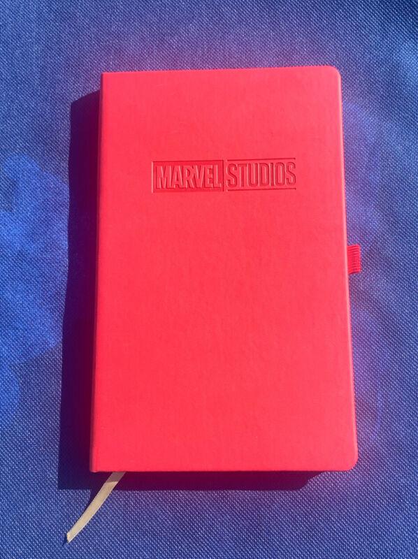 Disney D23 Expo 2017 Sorcerer Gift MCU Marvel Studios Red Notebook Journal
