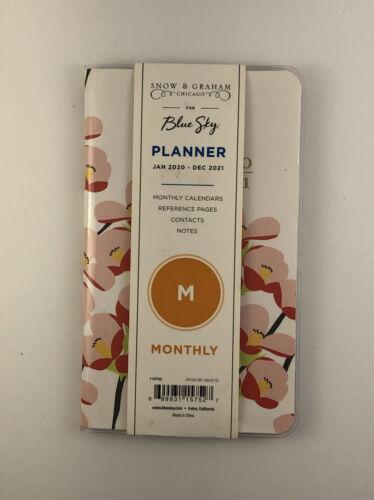 Blue Sky Tabbed Planner JAN 2020 - DEC 2021 Weekly Monthly Calendars/Notes  - $10.99