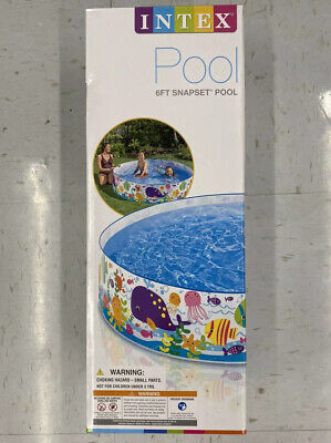 Intex Snapset Kids Pool 6ft x 15in FAST FREE SHIPPING