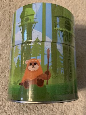 Funko Star Wars Smugglers Bounty Endor Box Ewok Mini Plush Hanger & Tin Sealed