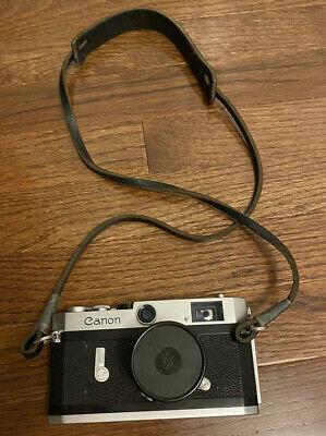 Canon P Rangefinder With Nikkor-H 50mm f/2 Lens 35mm Vintage Camera Film Tested