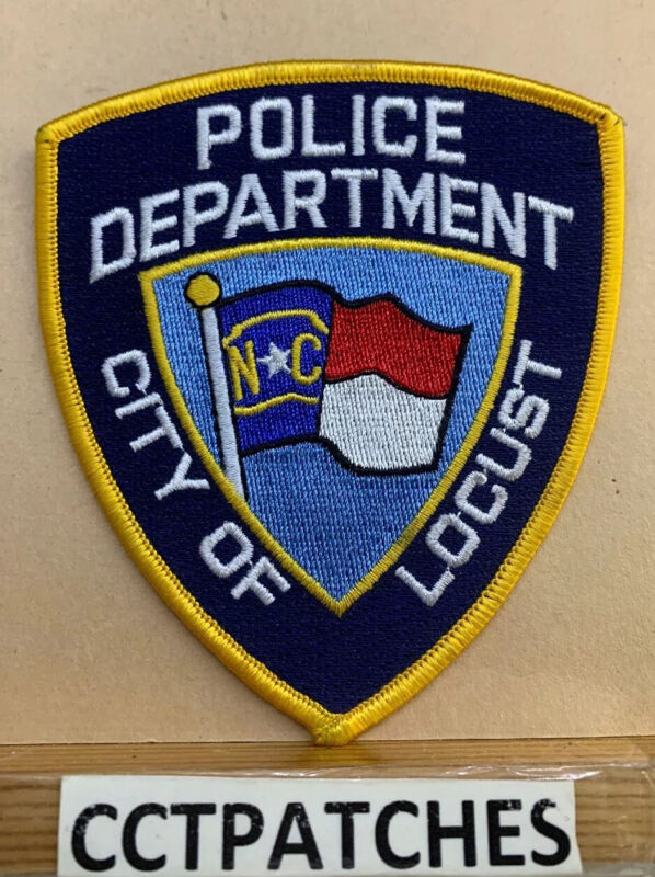 CITY OF LOCUST, NORTH CAROLINA POLICE SHOULDER PATCH NC