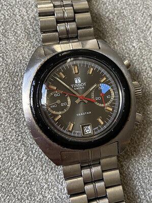 Rare Vintage TISSOT SEASTAR Chronograph Wristwatch - 40.2mm - 2060
