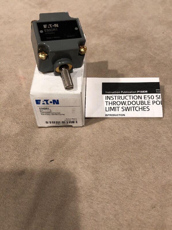 New IN BOX Eaton Cutler Hammer E50DR1 Limit Switch Operating Head NIB