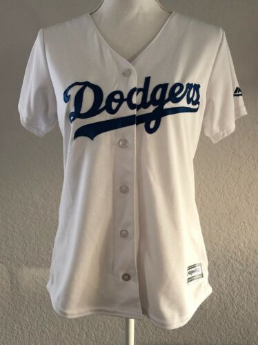 Women's Majestic Cool Base MLB Los Angeles Dodgers Baseball