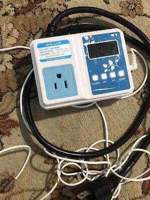 Ac 110v 220v Digital F Temperature Controller Thermostat Diy Aquarium Sous Vide