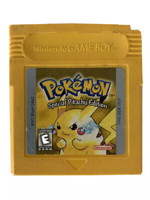 Pokemon Gameboy Yellow Version Special Pikachu Edition Authentic CLEAN WORKS