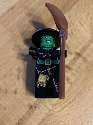 LEGO Hexe Minifigur mit - Hexe Mini Besen