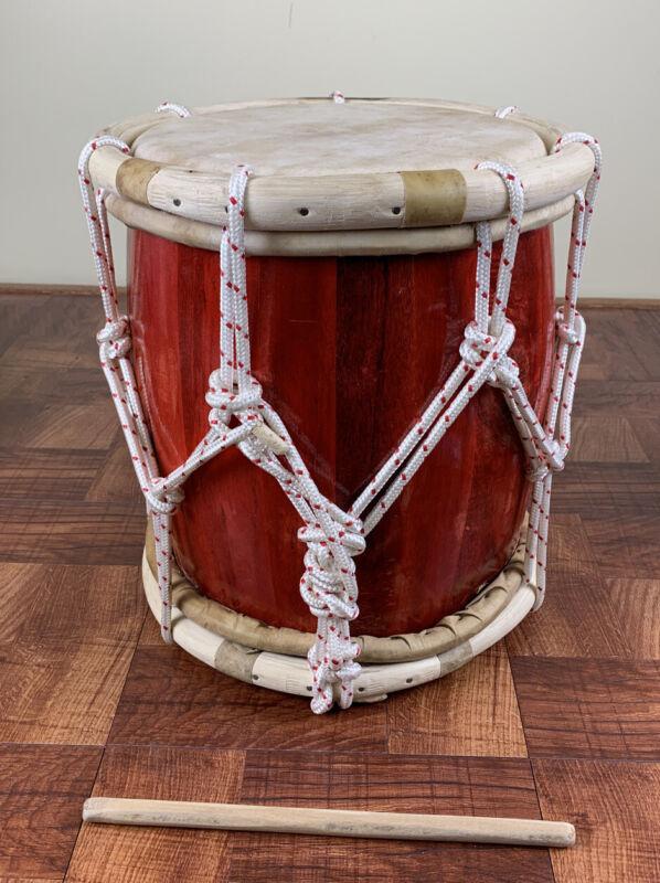Professional Tambora-Rope Tuned Handcrafted.Tambora De Soga-Típica