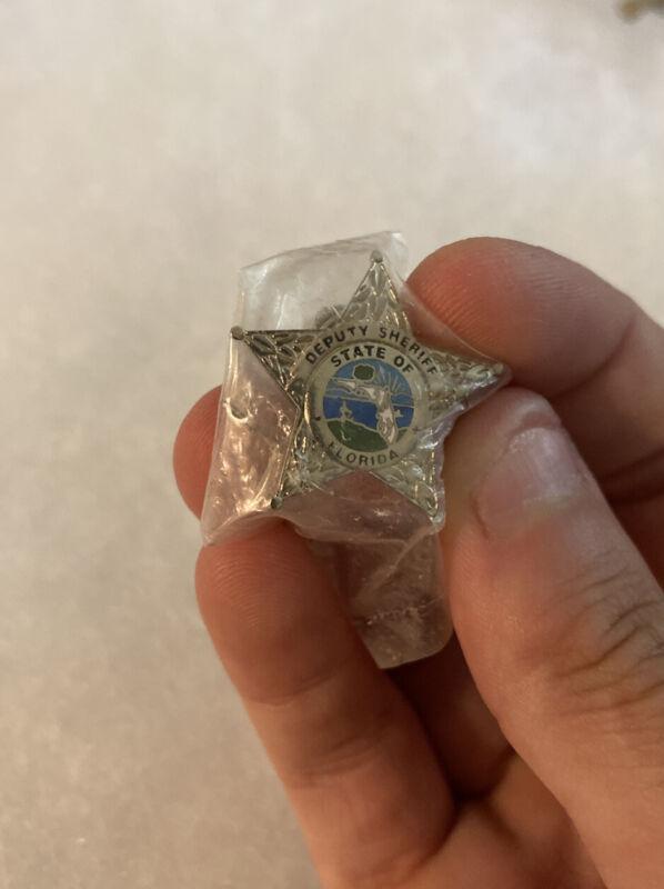 Badge State of Florida Deputy Sheriff Lapel Pin Hat Pin