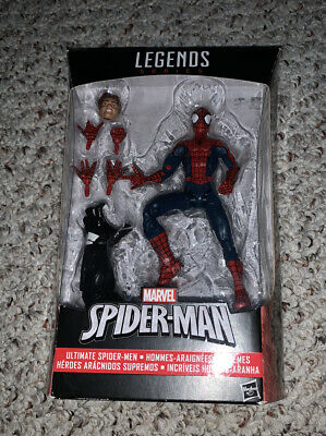 Marvel Legends Peter Parker Ultimate Spider-Man Space Venom BAF Hasbro Brand New