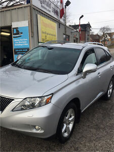 Rx350 Snow Tires on rims, privacy cover, winter mats