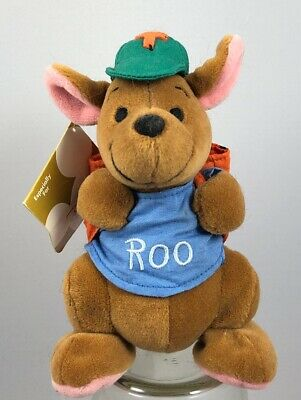Back To School Stores (Disney Store Winnie The Pooh Back To School Roo Bean Bag Plush - NWT 6