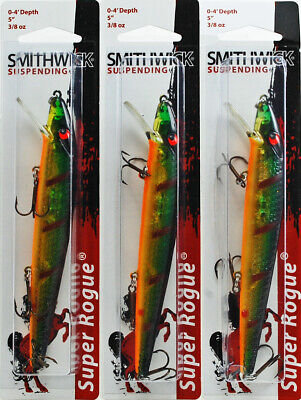 Smithwick Suspending Spoonbill Rogue Discontinued Model Choice of Colors