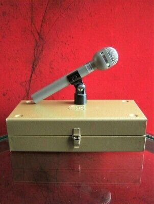Vintage 1996 Electro Voice RE-10 dynamic cardioid microphone w accessories