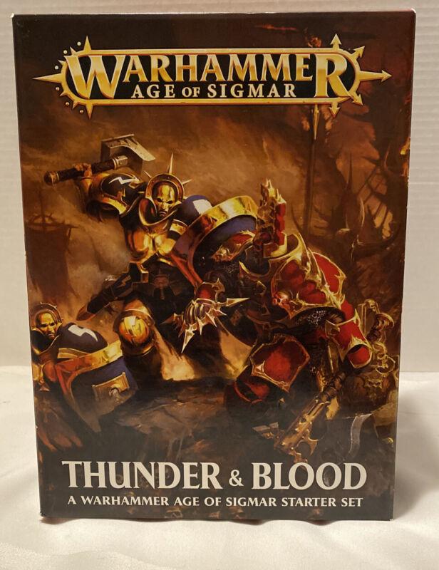 Age of Sigmar Thunder and Blood Starter Set Warhammer Fantasy Games Workshop New