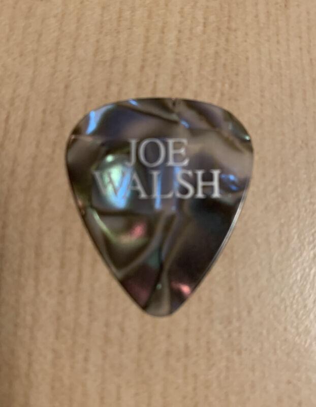 JOE WALSH CONCERT USED GUITAR PICK GUITARIST LEGEND VERY RARE THE EAGLES