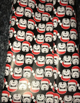 Christmas Star Wars Darth Vader Thick Gift Wrapping Paper & Gift Tags 1M x 70CM